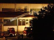 Kreis Aichach-Friedberg: Produktionshalle brennt: Großeinsatz in Aindling