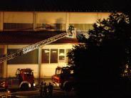 Aindling/Augsburg: Hallenbrand: Polizei geht von technischem Defekt aus