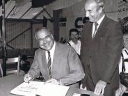 Aichach-Friedberg: Helmut Kohl besuchte einst auch den Landkreis