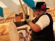 Volksfest: Sägen, bis die Späne fliegen