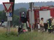 Polizeibericht: 75-jähriger Rollerfahrer übersieht Auto