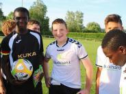 Asyl: Abschiedsspiel beim TSV Rehling für C-Jugendspieler