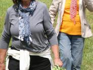 Bewegung: 800 Wanderer genießen Ausblick rund um Inchenhofen