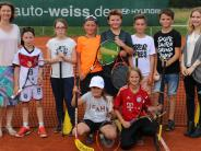 Lerntraining: Beim Lernen am (Tennis-)ball bleiben