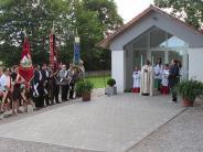 Aindling-Pichl: Segen für die neue Aussegnungshalle