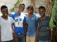 Auftritt: Haiti braucht nach Hurrikan Hilfe