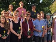 Schule: Sielenbacher Absolventen machen sich auf die Socken