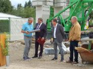 Schiltberg: Grundstein fürs neue Feuerwehrhaus ist gelegt