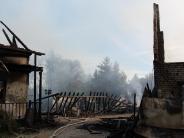 Dasing: Beim Brand in der Western-City war das Löschwasser knapp