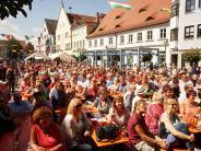 Veranstaltung: Aichach feiert amWochenendesein Stadtfest