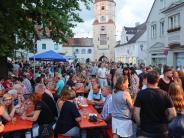 Stadtfest: Aichach ist voll-und alles voll entspannt