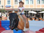 Aichach: Eisgutscheine für die besten Bullenreiter beim Stadtfest
