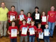 : Urkunden für Musikschüler aus Baar