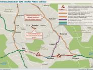 Umleitung: Die Staatsstraße ist ab Montag gesperrt