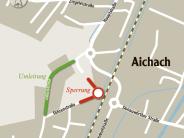 Verkehr: Föhrenstraße wird ab Montag  vier Wochen lang gesperrt