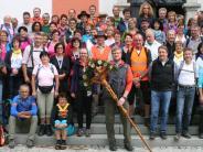 Pilger: Gundelsdorfer Pilger erreichen Altötting