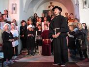 Kirche: Musical in Aichach: Luthers Leben in zwölf Liedern