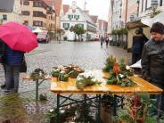 Wetter: Jahrmarkt beinahe vom Winde verweht