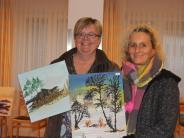 Ausstellung: Urlaube inspirieren ihre Kunst