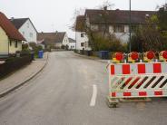 Bauarbeiten: Vollsperrung in Klingen