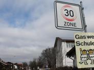 Gemeinderat: Tempo 30 an der Rehlinger Schule?