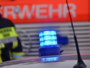 Todtenweis-Sand: Feuerwehreinsatz im Gewerbegebiet