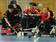 Rollstuhlhockey: Für die Mission Gold braucht er Geld