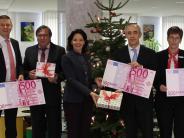 Förderung: Banken spenden für den Schullandheimverein