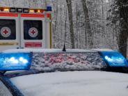 Polizeibericht: Unfallserie auf Autobahn nach Schneefällen