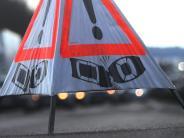 Polizeibericht: Zwei Autos stoßen im Kreisverkehr zusammen
