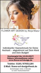 FLOWER ART DESIGN BY