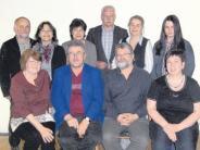 Jahresversammlung:  Vorsitzender mit neuer Mannschaft