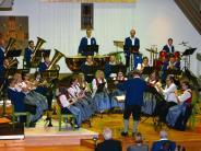 Blasmusik: Peter Heinle gibt seit 35 Jahren den Takt vor