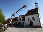 Kreis Augsburg: Wie ein Streit einen Maibaum verhindert