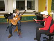 Musik: Ein junges Gitarrentalent