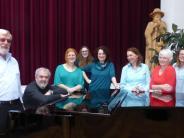 Singen: Eine Gruppe mit ganz eigenem Sound