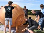 Altenmünster-Violau: Schüler schicken Ballon ins Weltall