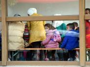 Landkreis Augsburg: Heute ziehen die ersten Flüchtlinge in die Neusässer Turnhalle ein
