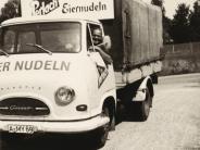 Neusäß: Als die Nudellaster durch Westheim fuhren