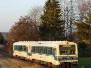 : Staudenbahn jetzt in der Winterpause
