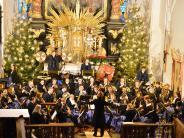 Musikverein: Stimmungsvoll mit Pauken und Trompeten