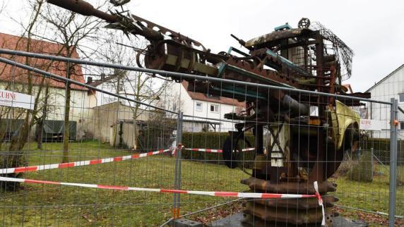 Kreis Augsburg: Warum Dinkelscherben ein Kunstwerk abreißt