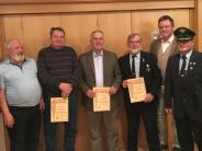 Jahresversammlung: Neue Ehrenmitglieder beim Soldatenverein