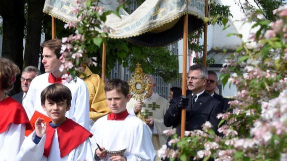Fronleichnam: Hochfest des Leibes und Blutes Christi