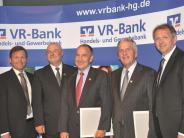 VR-Bank Handels- und Gewerbebank: Noch fünf Prozent Dividende für 2015