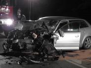Meitingen: 21-jährige Beifahrerin stirbt nach Unfall