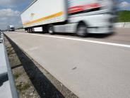Zusmarshausen: Autobahn nach Auffahrunfall gesperrt