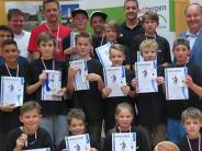 Stadtbergen: Basketball-Nachwuchs ist Mannschaft des Jahres