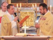 Einführung: Die Kirche kennt der neue Pfarrer nun schon