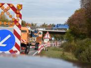 Gersthofen: Sechs Verletzte bei Unfallserie auf der B2